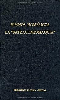 Himnos homericos batracomiomaquia: 008 par  Homero