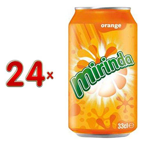 Mirinda 0,33 Liter 24 Dosen
