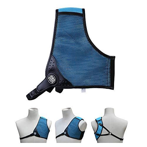 Bicaster Archery Chest Guard RH Blue/Black (Large) 3D Mesh