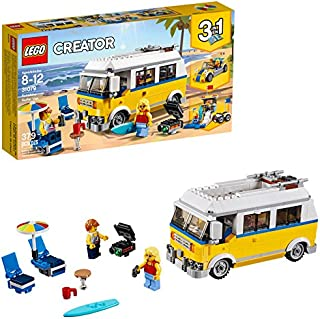 LEGO Creator 3in1 Sunshine Surfer Van 31079 Building Kit...