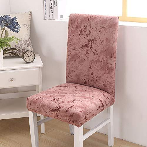 PCSACDF Coprivaso in Spandex Elasticizzato Antivuoto Keuken Stoelbekleding Elastische Housse De Chaise Cadeira da Pranzo Coprivaso per Zappette 1 Pc Misure Universali Colore 17