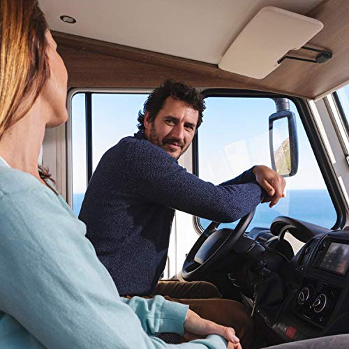 Garmin Camper 785 Advanced Camper Sat Nav with Built-in Dash Cam, High-Resolution 7 Inch Touch Display, Traffic and Voice-Activated Navigation