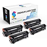 Spektrum Toner Compatible Cartridge Replacement (4-Pack) for Canon 104 (Black) CRG-104 / 0263B001AA for Canon ImageClass D420 D450 D480 MF4150 MF4350D MF4270 MF4370DN MF4380DN