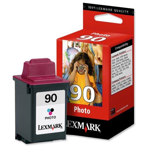 Lexmark #90 Photo Color Print Cartridge - Cartucho de tinta para impresoras (Inyección de tinta)