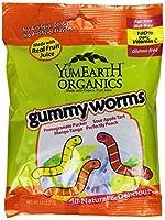 YumEarth Organic Gummy Worms, 子供に優しい オーガニック ハロウィン みみずグミ 71gx12パックセット 並行輸入 [並行輸入品]