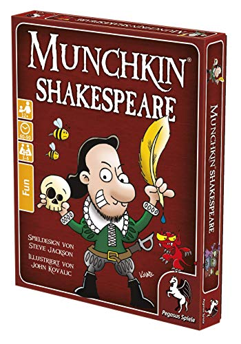 Pegasus Spiele 17244G - Munchkin Shakespeare