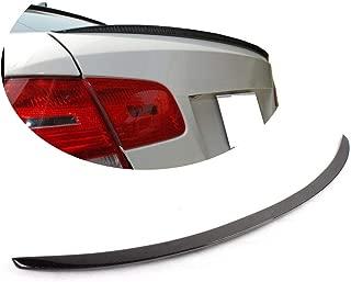 MCARCAR KIT Trunk Spoiler fits BMW 3 Series E92 Coupe 2006-2013 Factory Outlet 316i 318i 320i 323i 325i 328i 330i 335i M3 2Door Carbon Fiber CF Rear Boot Lid Highkick Wing Lip