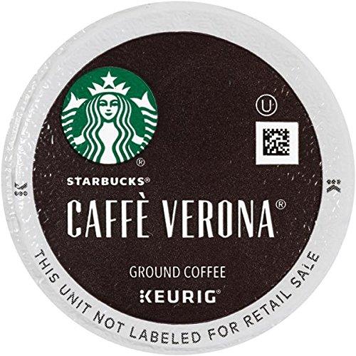 Starbucks Caffe Verona Dark, K-Cup for Keurig Brewers, 96 Count