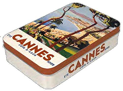 Boite A Savon Metal PUB Retro Cannes