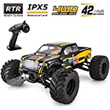 Best Electric Rc Trucks - BEZGAR Hobbyist Grade 4x4 Waterproof RC Car, 1:12 Review