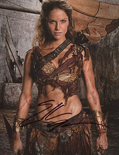 Ellen Hollman Signed Autograph Spartacus Saxa 8x10 Photo With COA pj3