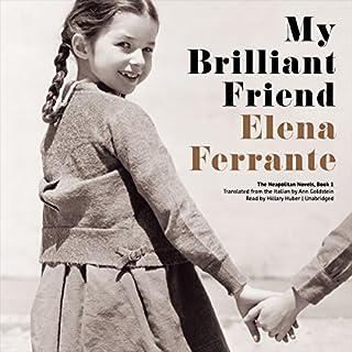 My Brilliant Friend audiobook cover art