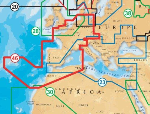 NAVIONICS Gold Seekartenmodul 46XG auf SD
