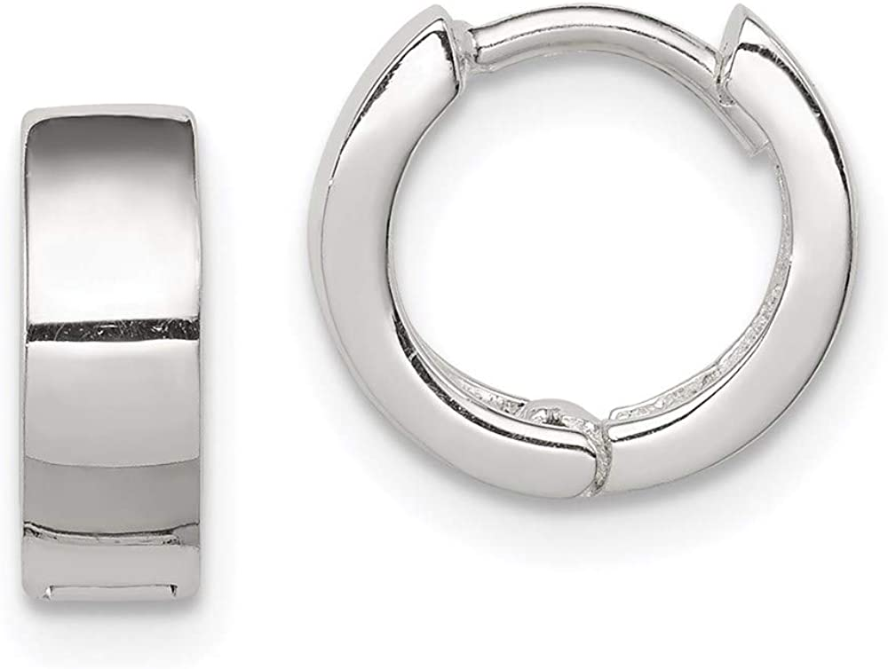 Sterling Silver Huggy-Style Earrings Baltimore Super intense SALE Mall
