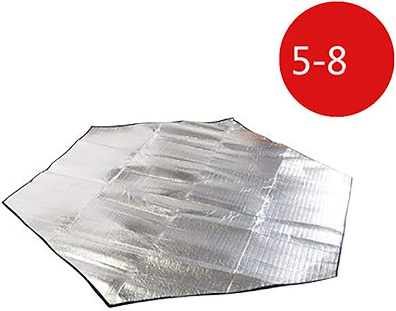 Outdoor Aluminum Film mat Large Waterproof and moistureproof Tent Picnic mat Lawn