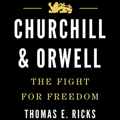 Churchill & Orwell audiobook cover art