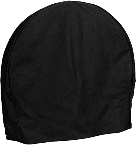 lowest Sunnydaze Firewood Log Hoop Cover Only - Heavy-Duty Outdoor Weather-Resistant Cover - Durable Polyester with PVC Backing new arrival - wholesale 48-Inch, Black outlet online sale