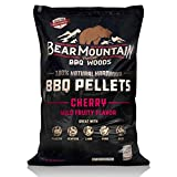 Bear Mountain BBQ 100% All-Natural Hardwood Pellets - Cherry Flavor (20 lb. Bag) Perfect for Pellet...