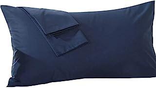 beddingstar Body Pillowcase 20x60 Navy Blue Body Pillow Cover 100% Pure Egyptian Cotton Hotel Quality 1-Pieces 20x60 Body ...