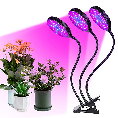 植物育成ライト LED 植物ライト USB給電 IP66防水 植物育成ランプ 5段階調光 定時機能 4/8/12H 水耕栽培ランプ 360°調節可能 高い光透過率 省エネ 肉植物育成/家庭菜園/室内園芸/水草栽培/野菜工場 植物育成用(45W)