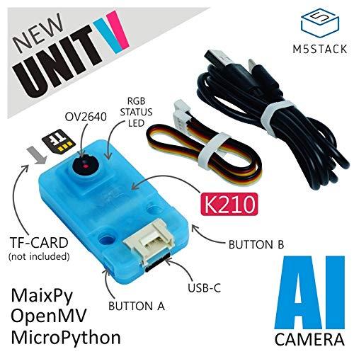 M5Stack UnitV Kendryte K210デュアルコア64ビットRISC-V CPUのAIカメラ最先端のニューラルネットワークプロセッサ (UnitV)