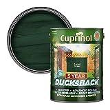 Cuprinol - 5L Ducksback 5 Año Impermeable Para Cobertizos Y Vallas - Forest Green