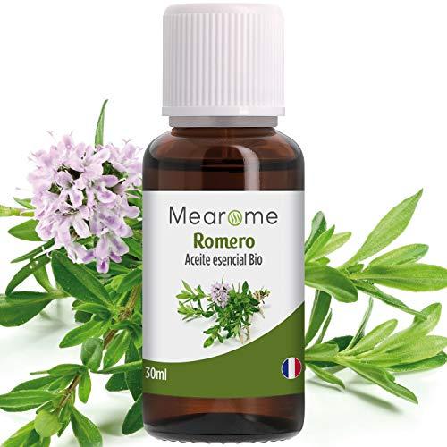 PLASTIMEA - Aceite Esencial Puro 100% Natural y Bio, Para Aromaterapia y Humidificador Ultrasónico, Fabricado en Francia, Aroma Romero, 30 ml