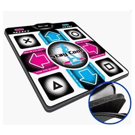 "Dance Dance Revolution DDRgame (Super Sensitive-No More Delay) PS1 /PS2 Super Deluxe Pad (Version 4.0) with 1"" Foam Insert"