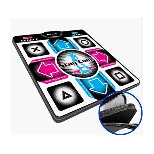 Dance Dance Revolution DDRgame (Super Sensitive-No More Delay) PS1 /PS2 Super Deluxe Pad (Version 4.0) with 1' Foam Insert
