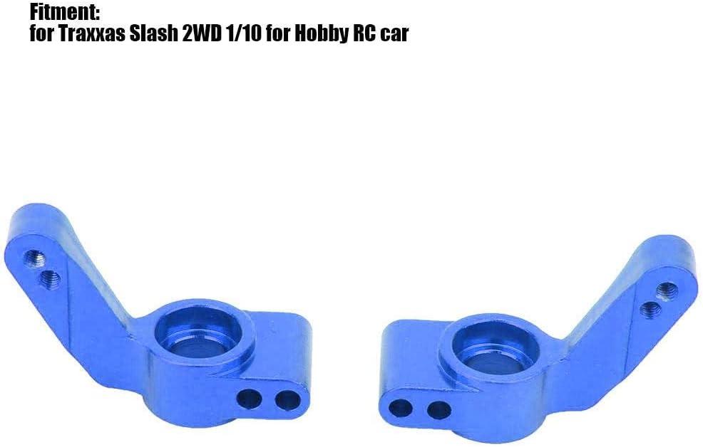 L//R Steering Hub Carrier Dark Blue Upgrade Parts Aluminum Steering Hub Carrier for 1//10 Scale RC Car
