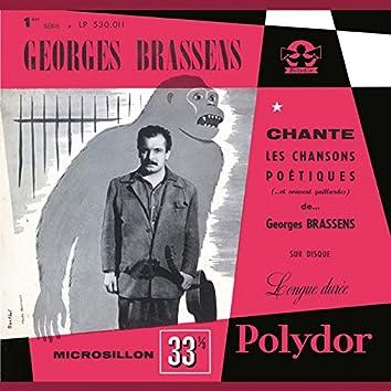 Georges Brassens chante les chansons poétiques (et souvent gaillardes) N°1
