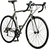 Pure Cycles Classic 16-Speed Road Bike, 53cm/Medium, Dornbush Grey