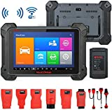 Autel MaxiCOM MK908 Diagnostic Tool OBD2 Scanner with All System, ECU Coding and Service Functions Including Bi-Directional Control Active Tests, ABS Brake Bleeding, Upgraded Version of MS908