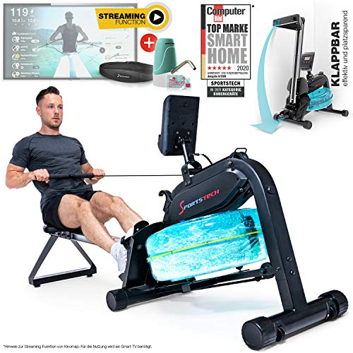 Sportstech WRX 400 Premium Wasser Rudergerät