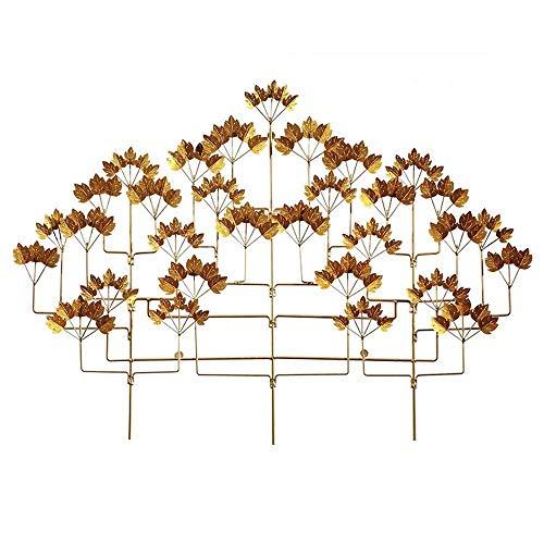 ZHICHUAN Ilustraciones de Metal Arte de la Pared, Decoración Del Hogar Del Árbol de la Vida Pared Del Arte de la Decoración, de Interior Y Al Aire Libre Pared Del Jardín de Escultur