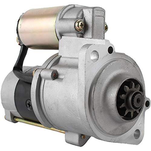 DB Electrical SMT0100 Starter For Mitsubishi Forklift S4E S4S / FD-20B-DS, FD-20D, FD-25B-DS, FD-25DS, FD-25T, FD-35AB-D, FD-35A-D, FD-35AT/ M2T62271, M2T62272, M2TS0071, 32A66-00100, 32A66-00101