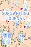 SONGWRITING JOURNAL: Lyrics Notebook - Journal Gift, 100 Pages, 6x9, Cover, Matte Finish.