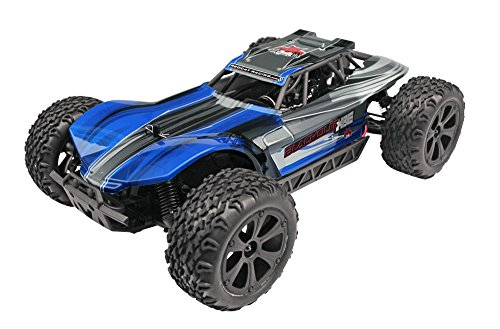 Redcat Racing Blackout XBE Pro Brushless Electric Buggy with Waterproof Electronics Vehicle (1/10 Scale), Blue