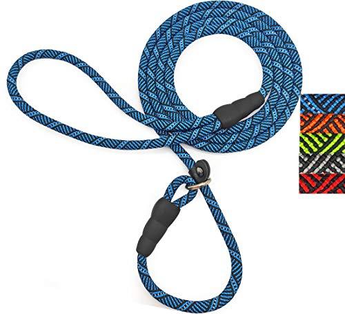 Mycicy Durable Rope Slip Lead Dog Leash, 1/4