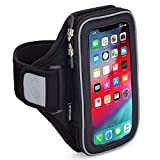 Sporteer Velocity V8 Running Armband - iPhone 11 Pro Max, Xs Max, iPhone 11, XR, 8 Plus, 7 Plus, Galaxy S20+, S10 Plus, S20, S10, Note 10, 9, S9 Plus, S8 Plus, Pixel 4 XL, 3 XL, LG, Moto - FITS Cases