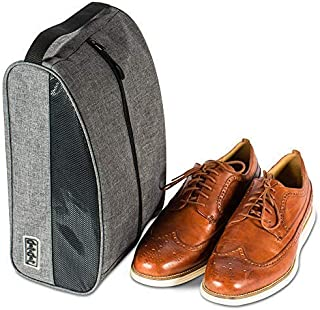 Travel Shoe Bag - Premium Travel Shoe Bags for Packing and Storage - Shoe Carrier Golf Shoe Bag Men
