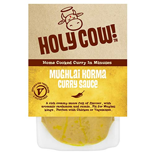 Holy Cow ! Currysoßen, Currysoße aus Mughlai Korma 250g (Los von 6)