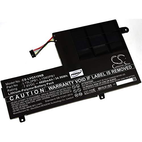 Akku für Laptop Lenovo Yoga 510-14ISK-80S700ADGE, 7,6V, Li-Polymer