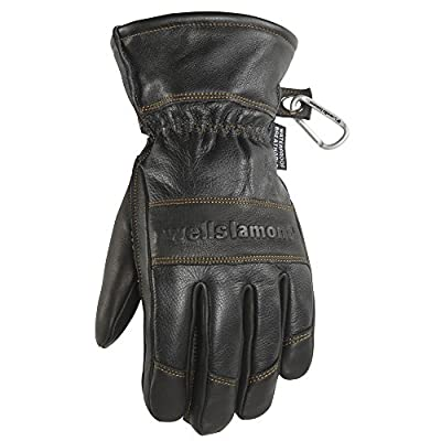 Men's Leather Winter Gloves