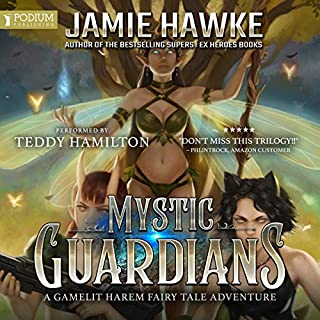 Mystic Guardians audiobook cover art