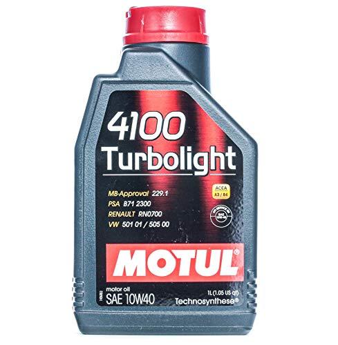 108644 - Aceite lubricante Motor 4100 TURBOLIGHT 10W40