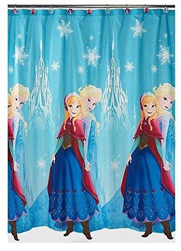 Disney, Frozen Anna & ELSA, Duschvorhang. Anna and ELSA Repeat