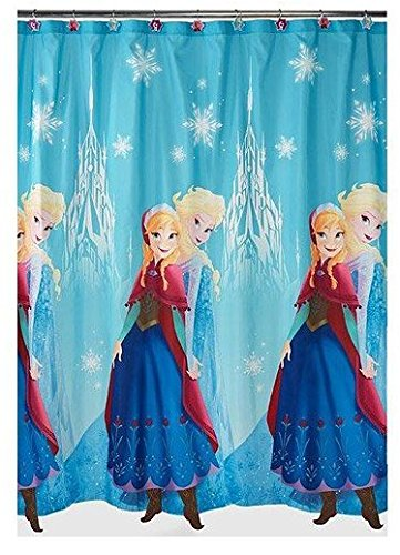 Disney, Frozen Anna & ELSA, Duschvorhang. Anna and ELSA Repeat