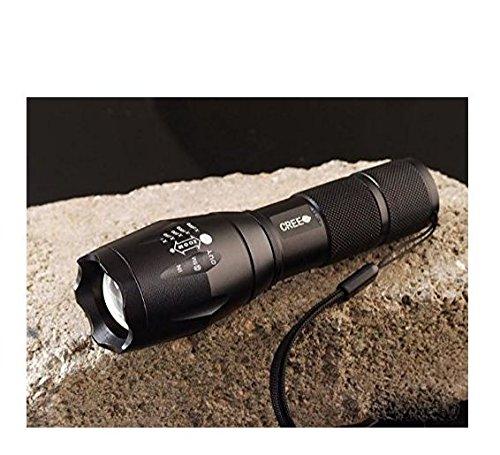 MuSheng(TM) Lampes-torches - xm-l crie 1600 lumen avec zoom zoom t6 conduit 18650 aaa lampe torche lumineuse des feux