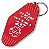 Vintage Hotel Motel Keychain (Red Overlook Hotel)
